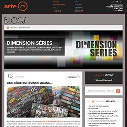 Dimension séries