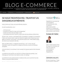 BLOG E-COMMERCE de François Ziserman, e-commerce et logiciel