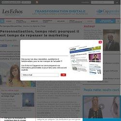 Personnalisation, temps réel: pourquoi il est temps de repenser le marketing - Transformation Digitale
