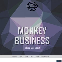 Internet, Big Data et personnalisation : incursion dans les entrailles du web – Monkey Business