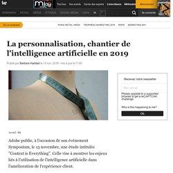 La personnalisation, chantier de l'intelligence artificielle en 2019