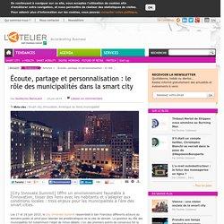 Écoute, partage et personnalisation : le rôle des municipalités dans la smart city