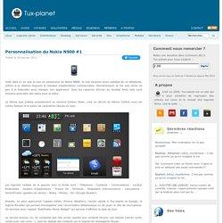 Personnalisation du Nokia N900 #1