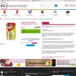 Coque personnalisée Samsung Galaxy Y Duos - Coque-Design
