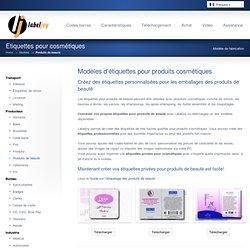 Etiquettes pour produits de beauté & Etiquettes personnalisées pour cosmétiques – Labeljoy