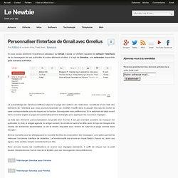 Personnaliser l'interface de Gmail avec Gmelius