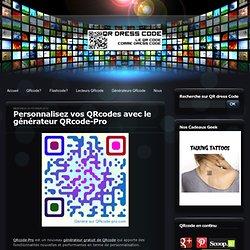 Personnalisez vos QRcodes avec le générateur QRcode-Pro