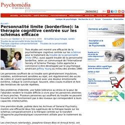 borderline: thérapie cognitive centrée sur les schémas efficace