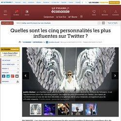 Quelles sont les cinq personnalités les plus influentes sur Twitter ?