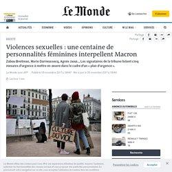 Violences sexuelles : une centaine de personnalités féminines interpellent Macron