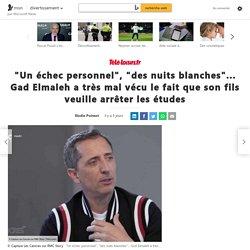 Gad Elmaleh: ses confessions touchantes sur son fils
