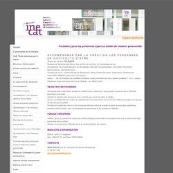 Formation pour les personnes ayant un atelier de création personnelle - art-thérapie / inecat, institut national d'expression, de création, art et transformation, formation en art-thérapie