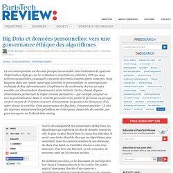 Big Data et données personnelles: vers une éthique des algorithmes