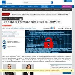 Les données personnelles et les collectivités