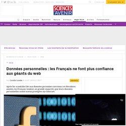 Données personnelles : les Français n'ont plus confiance