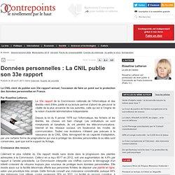 Données personnelles : La CNIL publie son 33e rapport