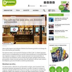 Un café où l'on paie avec ses données personnelles