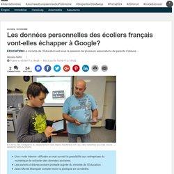 Les données personnelles des écoliers français vont-elles échapper à Google?