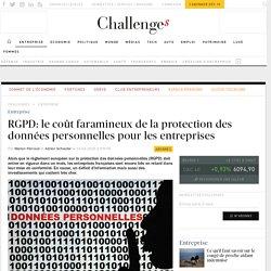 RGPD: le coût faramineux de la protection des données personnelles pour les entreprises