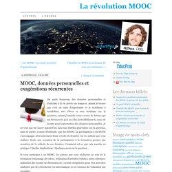 MOOC, données personnelles et exagérations récurrentes