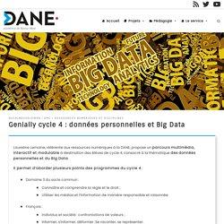 Données personnelles et Big Data : parcours de formation cycle 4