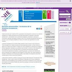 Données personnelles : protection des données personnelles, Commission nationale informatique et libertés (CNIL), normes européennes, droits et libertés des personnes. Actualités