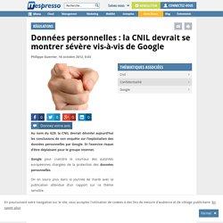 Données personnelles : la CNIL devrait sanctionner Google