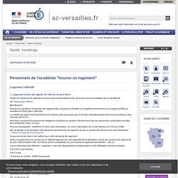 Personnels de l'académie ''trouver un logement'' - ac-versailles.fr