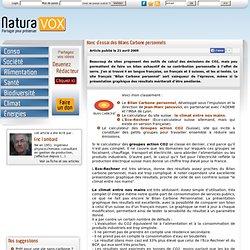 2009/04/21 - Banc d'essai des Bilans Carbone personnels