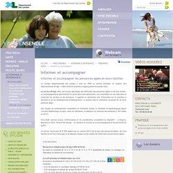 Informer et accompagner les personnes âgée et leur famille - Landes