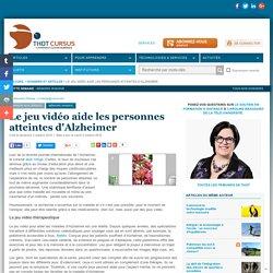Le jeu vidéo aide les personnes atteintes d'Alzheimer