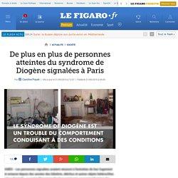 De plus en plus de personnes atteintes du syndrome de Diogène signalées à Paris