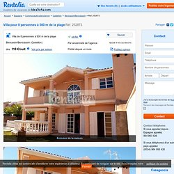 Villa pour 8 personnes à 500 m de la plage - Benicasim/Benicàssim (Castellón) Castellón - Costa Azahar