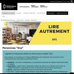 """Personnes """"dys"""": Bibliothèque des Champs Libres"""