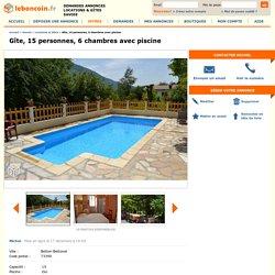 Gîte, 15 personnes, 6 chambres avec piscine Locations & Gîtes Savoie