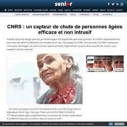CNRS : un capteur de chute de personnes âgées efficace et non intrusif - 23/11/16