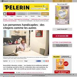 Les personnes handicapées : des citoyens comme les autres