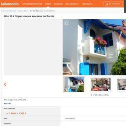 Gîte 10 à 18 personnes au coeur de Pornic Locations & Gîtes Loire-Atlantique - leboncoin.fr