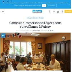 Canicule : les personnes âgées sous surveillance à Poissy - 19/07/16