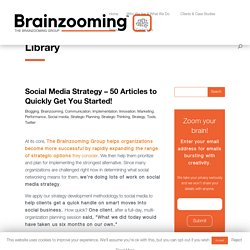 Social Media Strategy-50 Articles to Expand Your Perspective