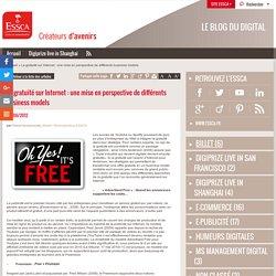 La gratuité sur Internet : une mise en perspective de différents business models - Blog digital