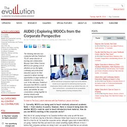 Exploring MOOCs from the Corporate Perspective