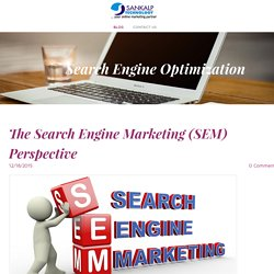 The Search Engine Marketing (SEM) Perspective