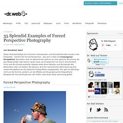 35 Splendid Examples of Forced Perspective Photography | Dr. Web Magazin