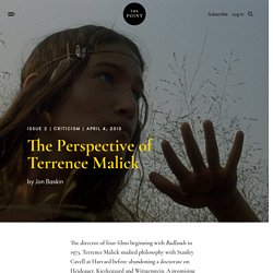 The Perspective of Terrence Malick