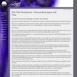 The Fifth Perspective: Transcending Space and Time