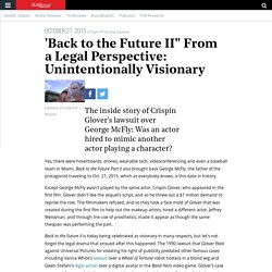 """'Back to the Future II"""" From a Legal Perspective: Unintentionally Visionary"""