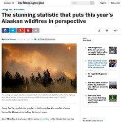 The stunning statistic that puts this year's Alaskan wildfires in perspective