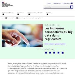 Les immenses perspectives du big data dans l'agriculture