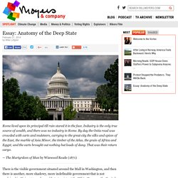 Essay: Anatomy of the Deep State | Blog, Perspectives